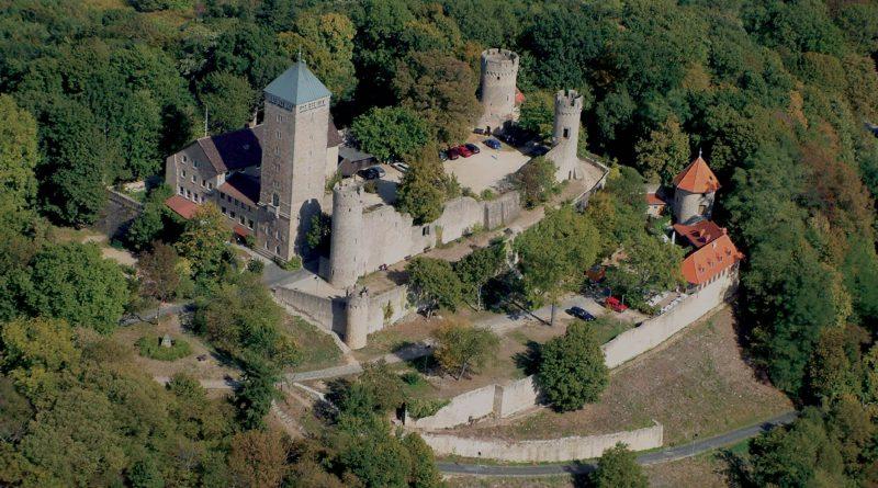 Starkenburg Luftaufnahme